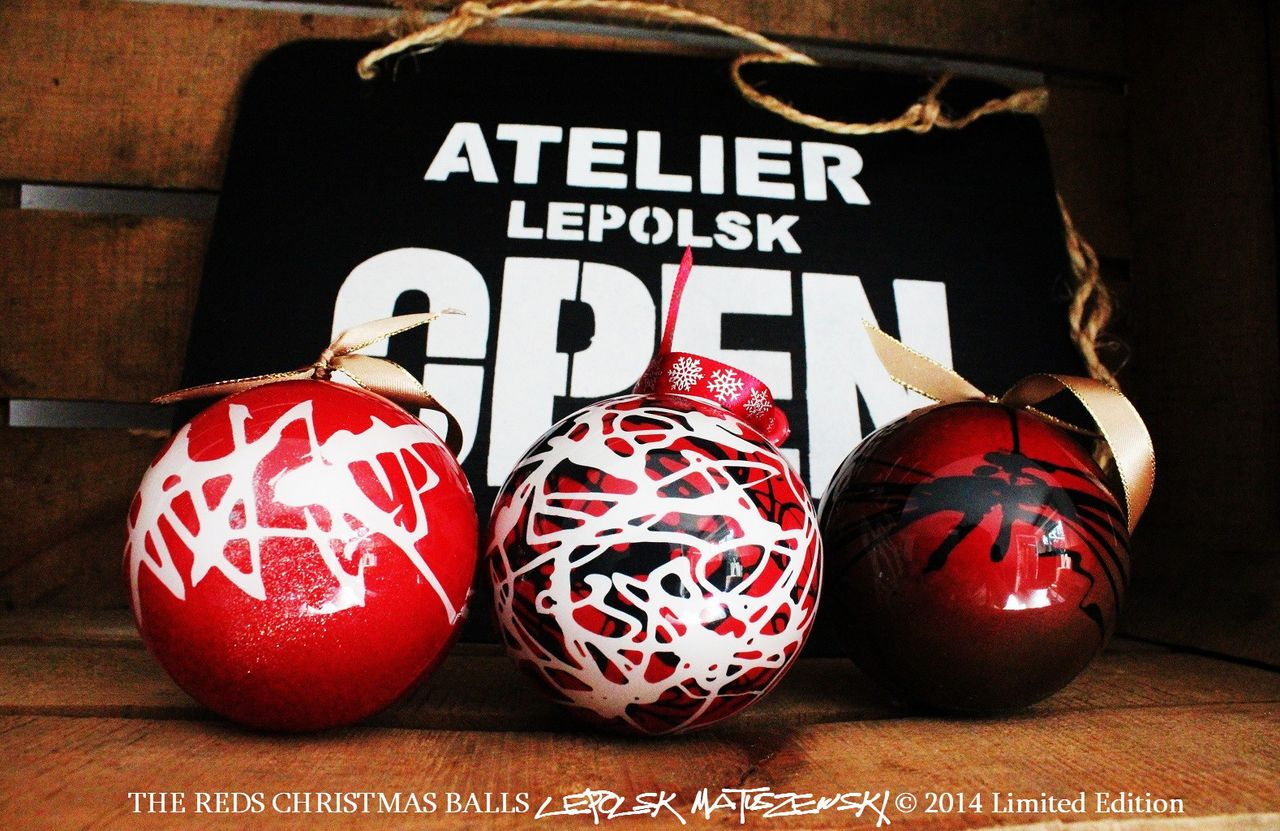 MK  Lepolsk Matuszewski THE REDS CHRISTMAS BALLS 2014