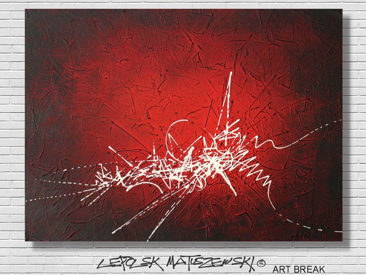 MK  Lepolsk Matuszewski ART BREAK   ( expressionnisme abstrait contemporain )