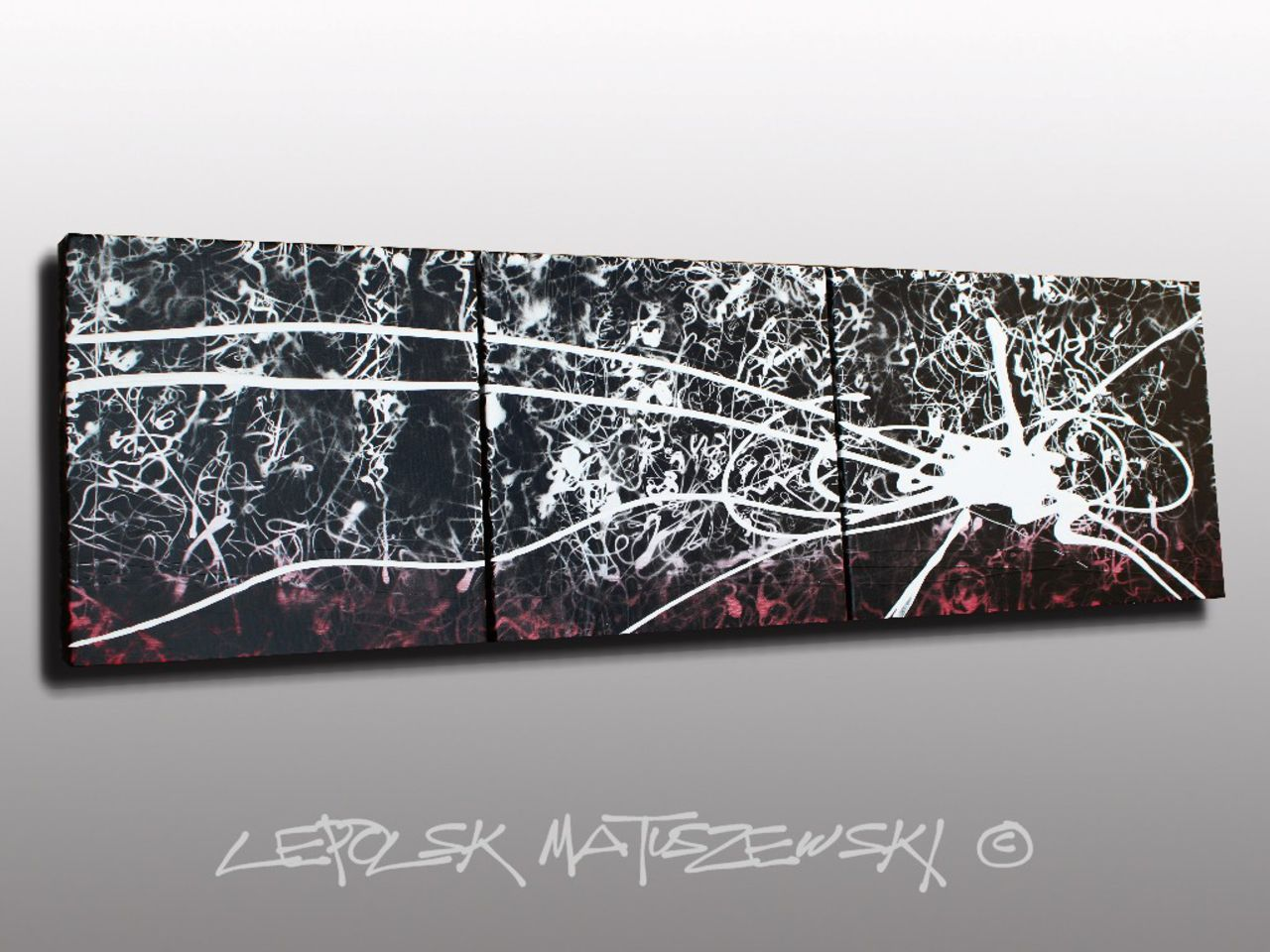 MK  Lepolsk Matuszewski INCANDESCENCE  Expressionnisme abstrait contemporain