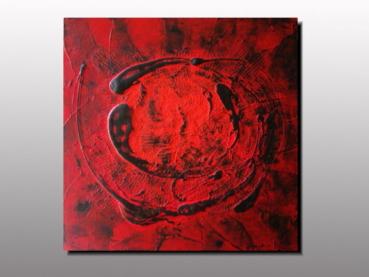 MK  Lepolsk Matuszewski MATURI ROUGE 3  Expressionnisme abstrait