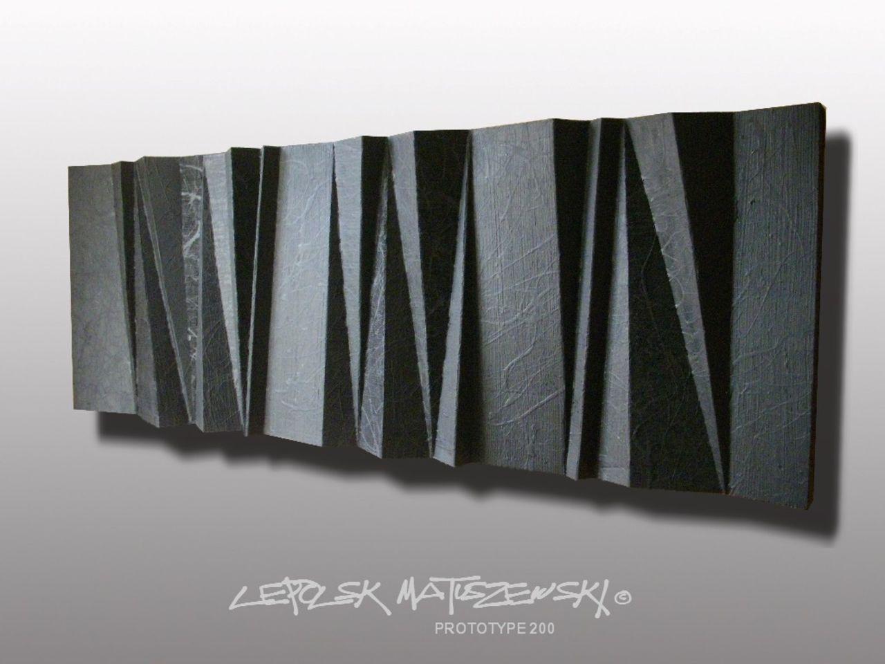 MK  Lepolsk Matuszewski PROTOTYPE 200  expressionnisme abstrait