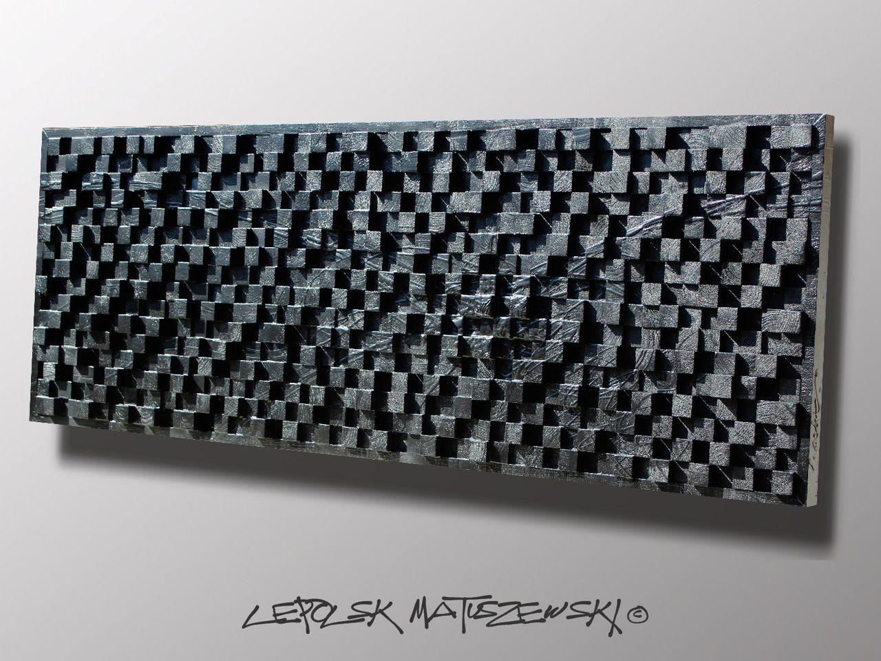 MK  Lepolsk Matuszewski PROTOTYPE 768³   expressionnisme abstrait