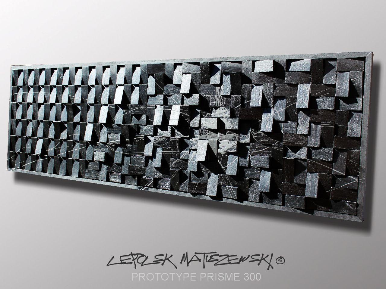 MK  Lepolsk Matuszewski PROTOTYPE PRISME 300   Expressionnisme abstrait contemporain