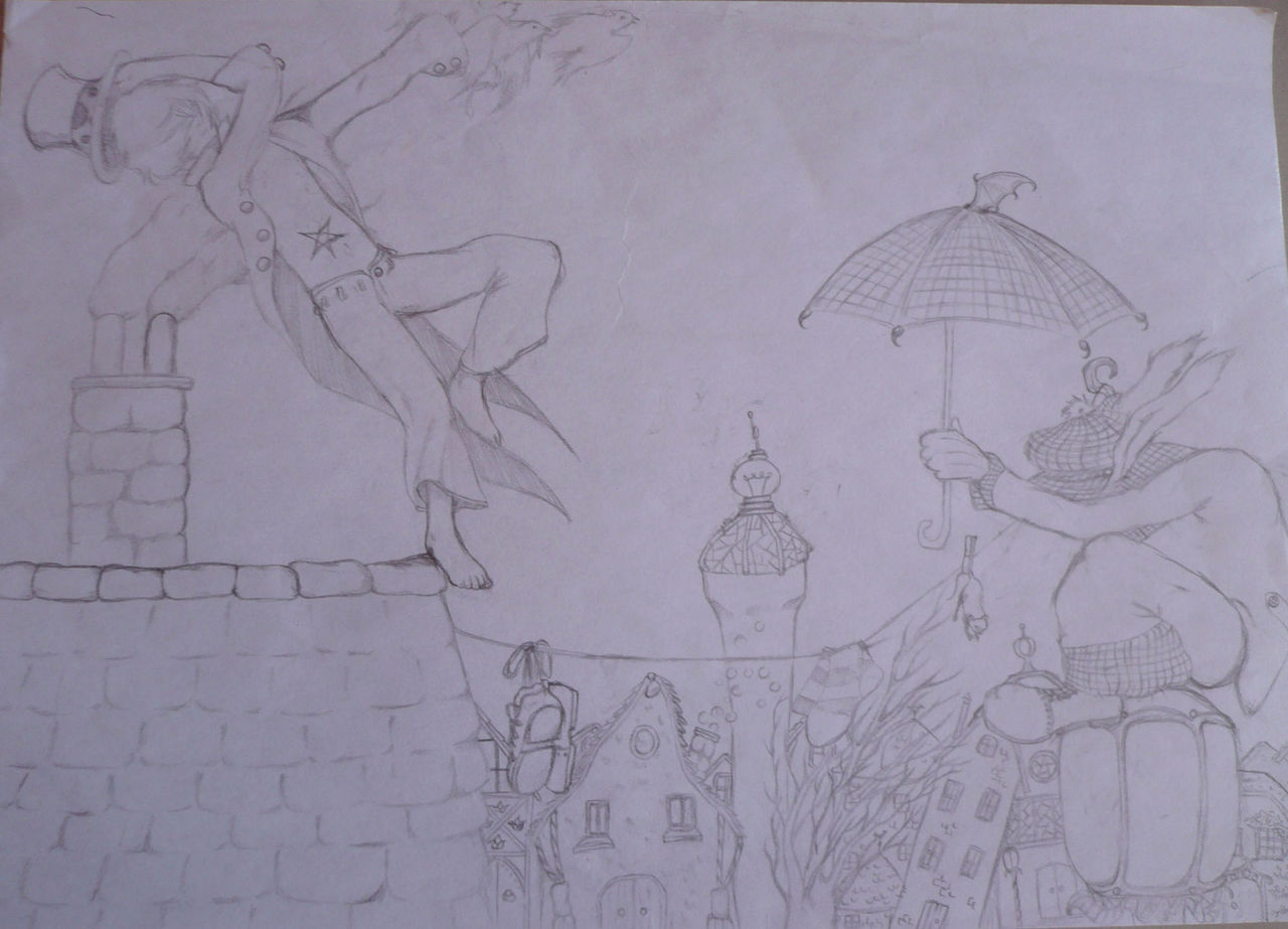 Natacha X Tuiles et Parapluie