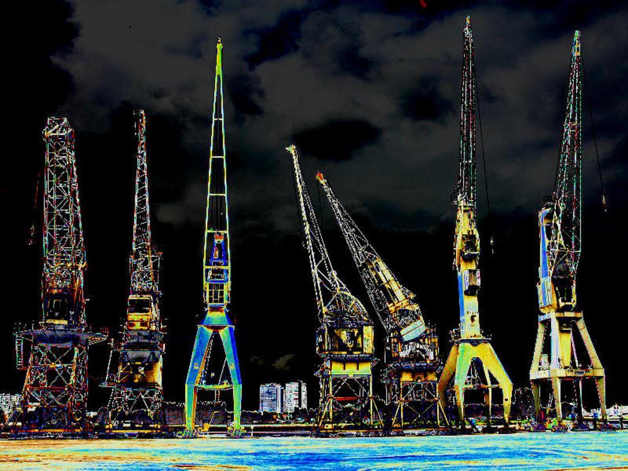 Niklas DC Les girafes mécaniques