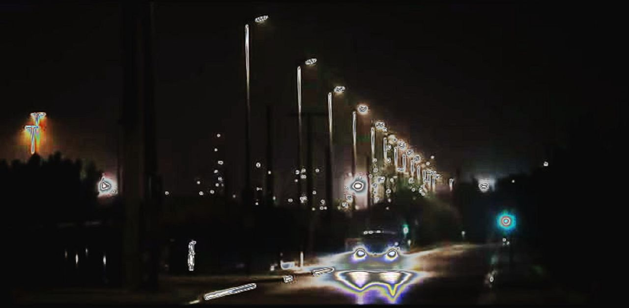 Niklas DC Rain lights district