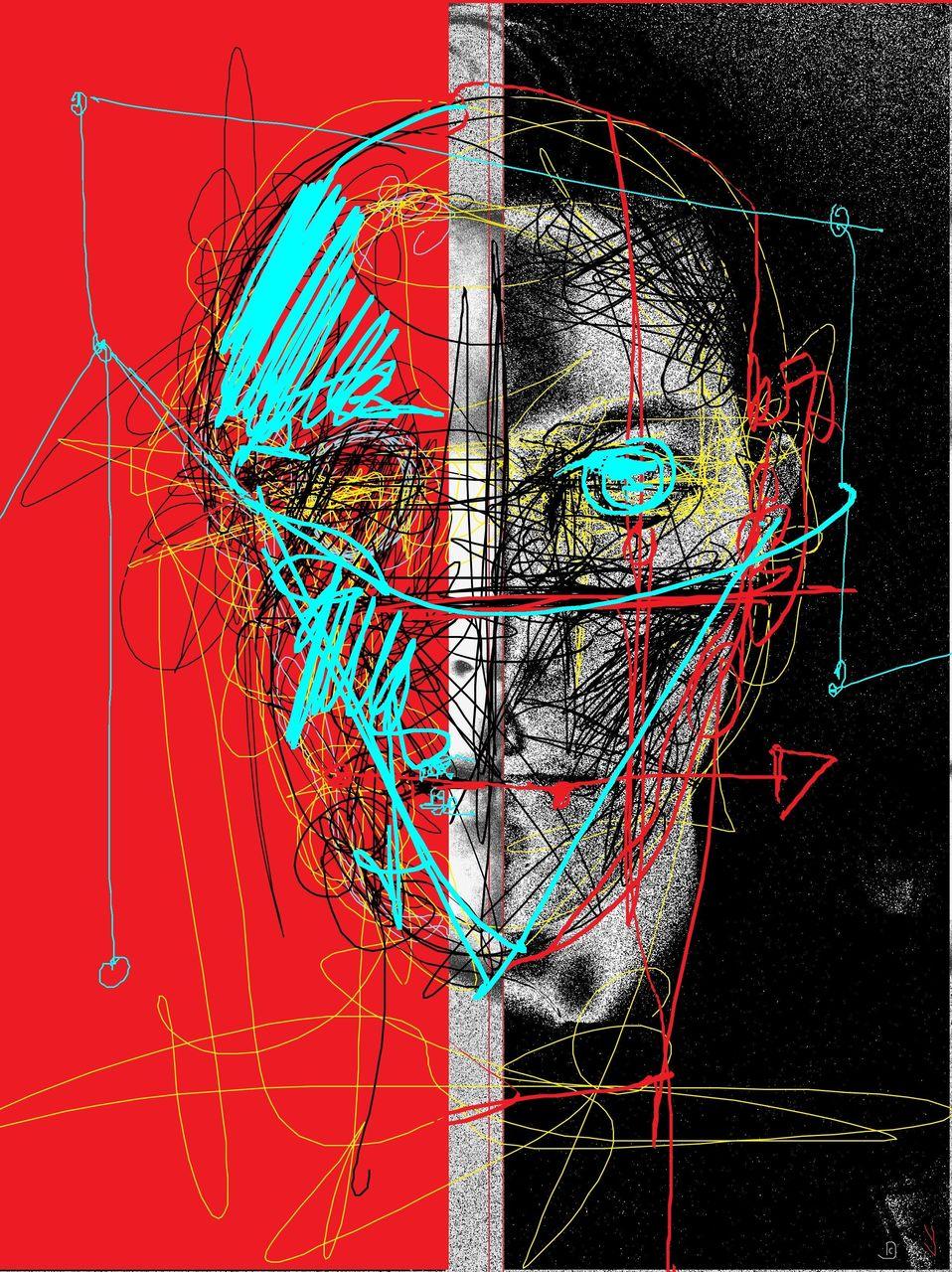 Niklas DC Red & Carbon