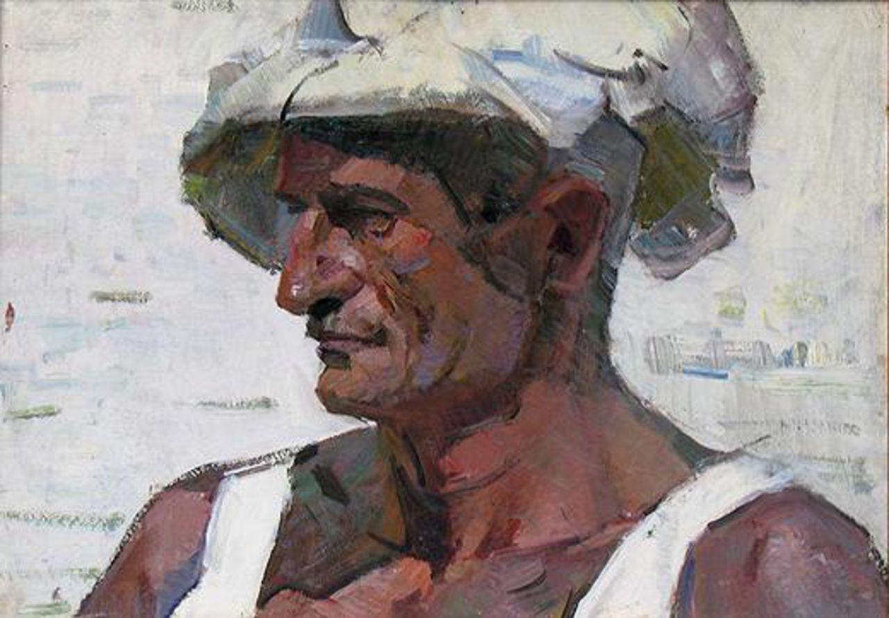 Nikolay Paramonov Portrait of a Fisherman