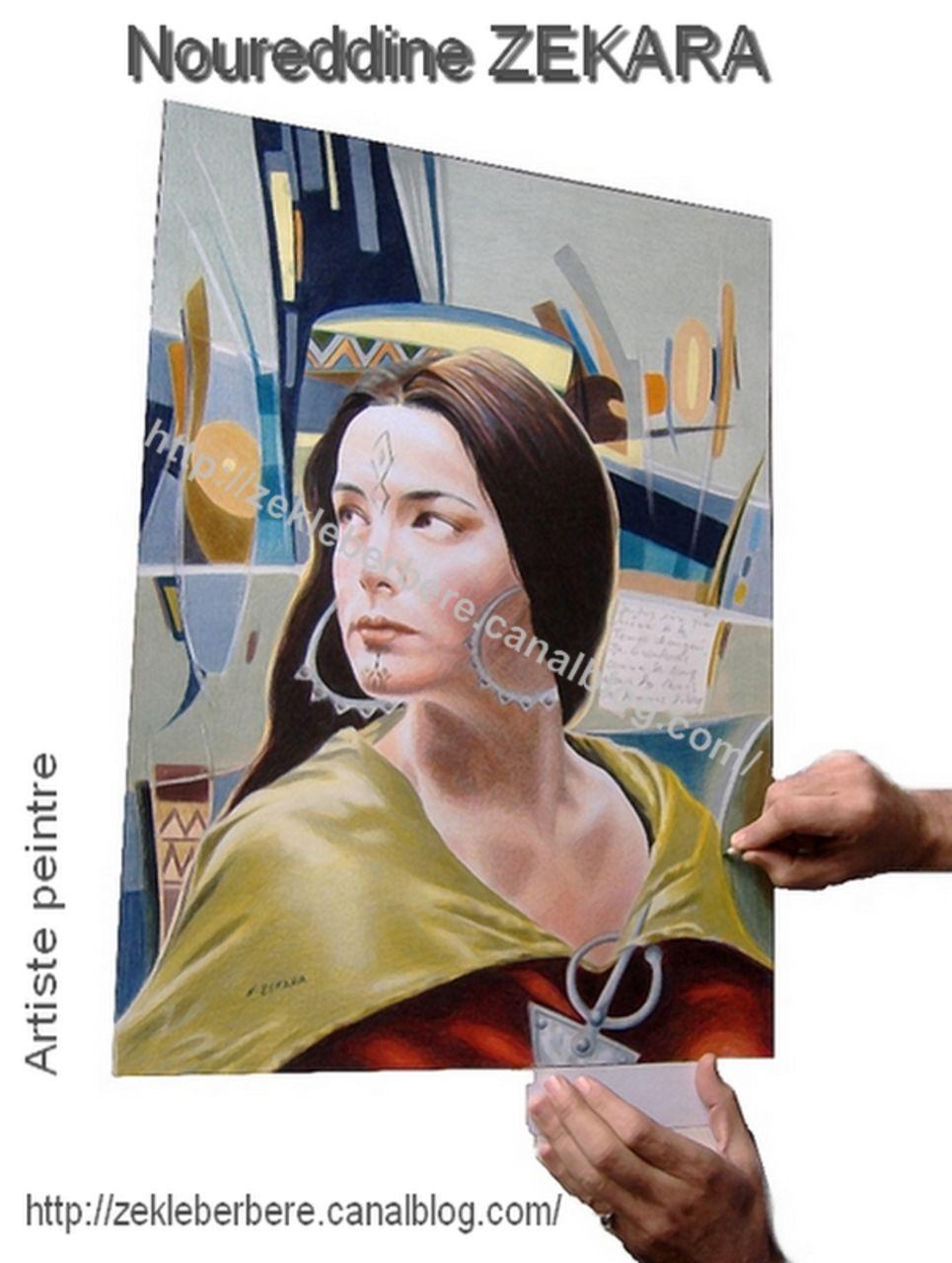 Noureddine ZEKARA Affiche - La Kahina