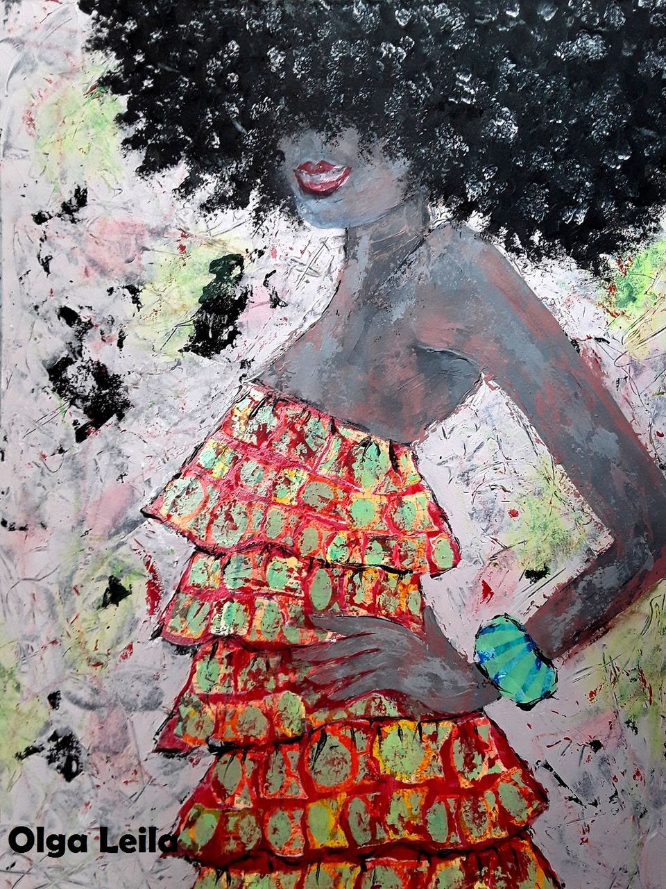 Olga  Leila Femme Africaine