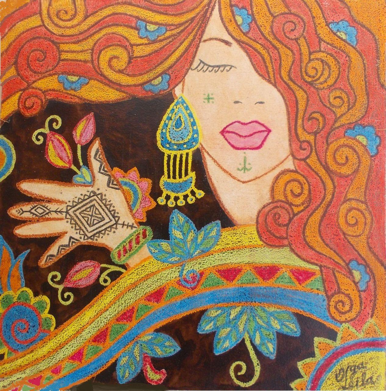 Olga  Leila Femme berbere