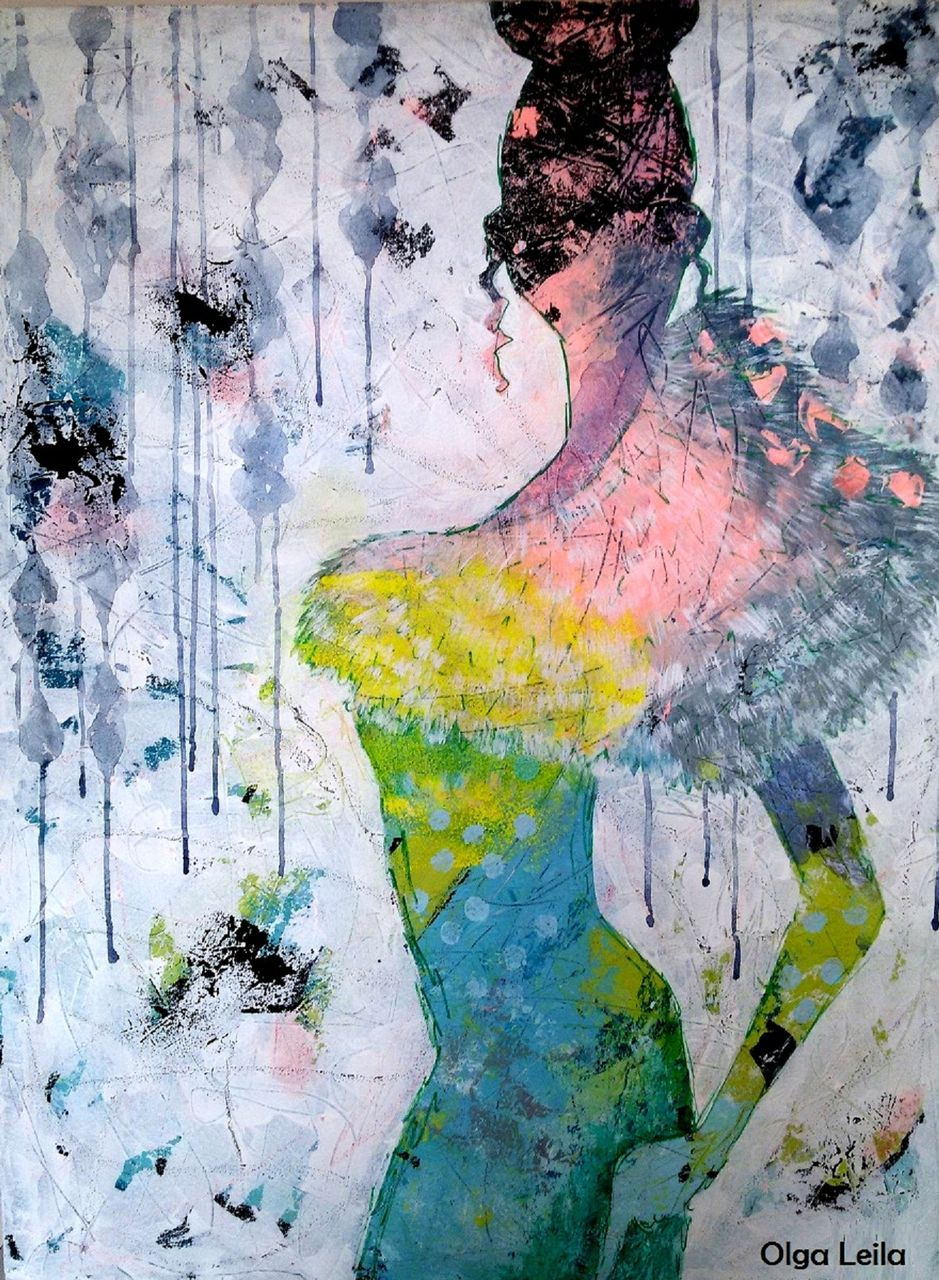 Olga  Leila Femme de rêve