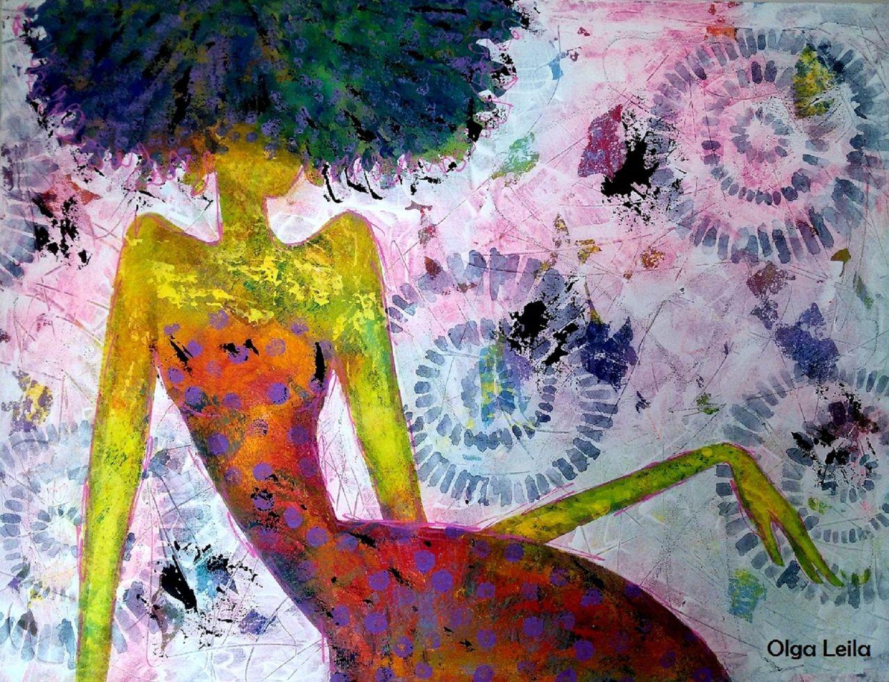 Olga  Leila Femme flamme