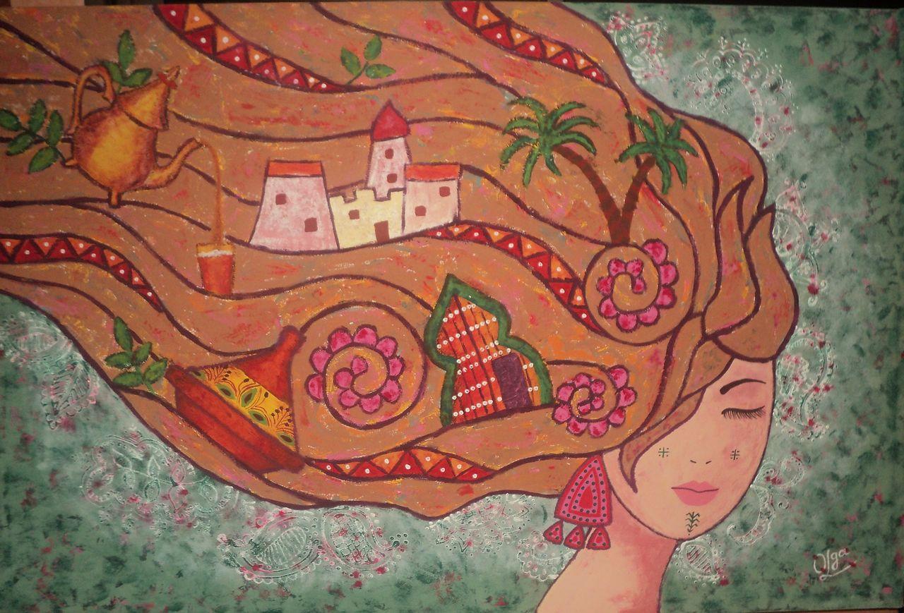 Olga  Leila Voyage au Maroc