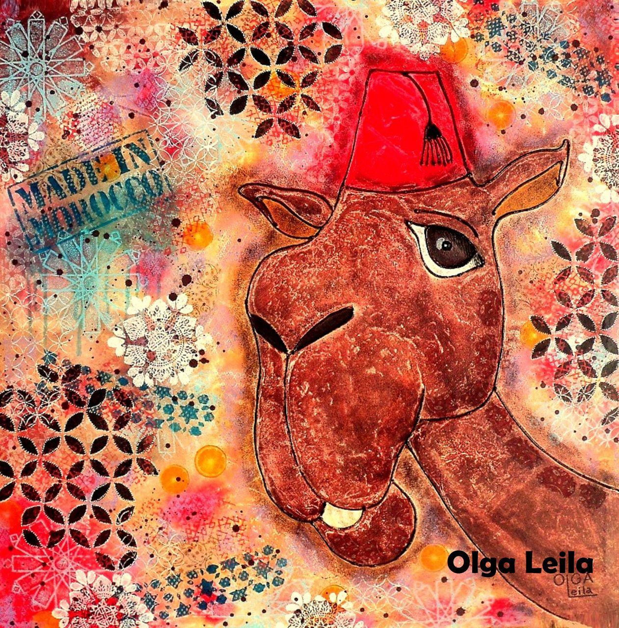 Olga  Leila Le dromadaire marocain
