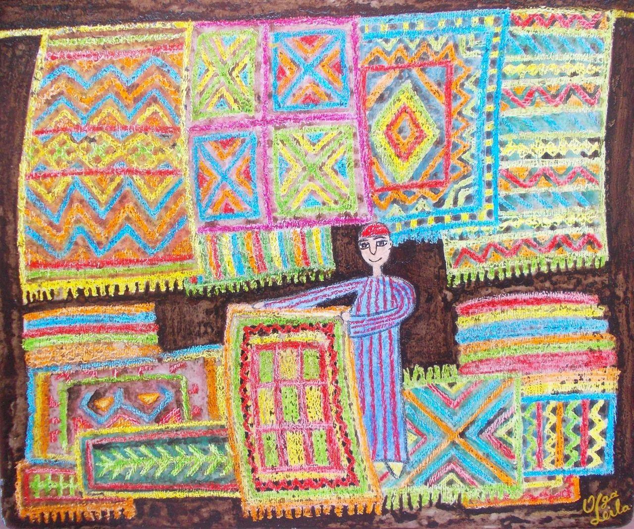 Olga  Leila Les tapis berbères