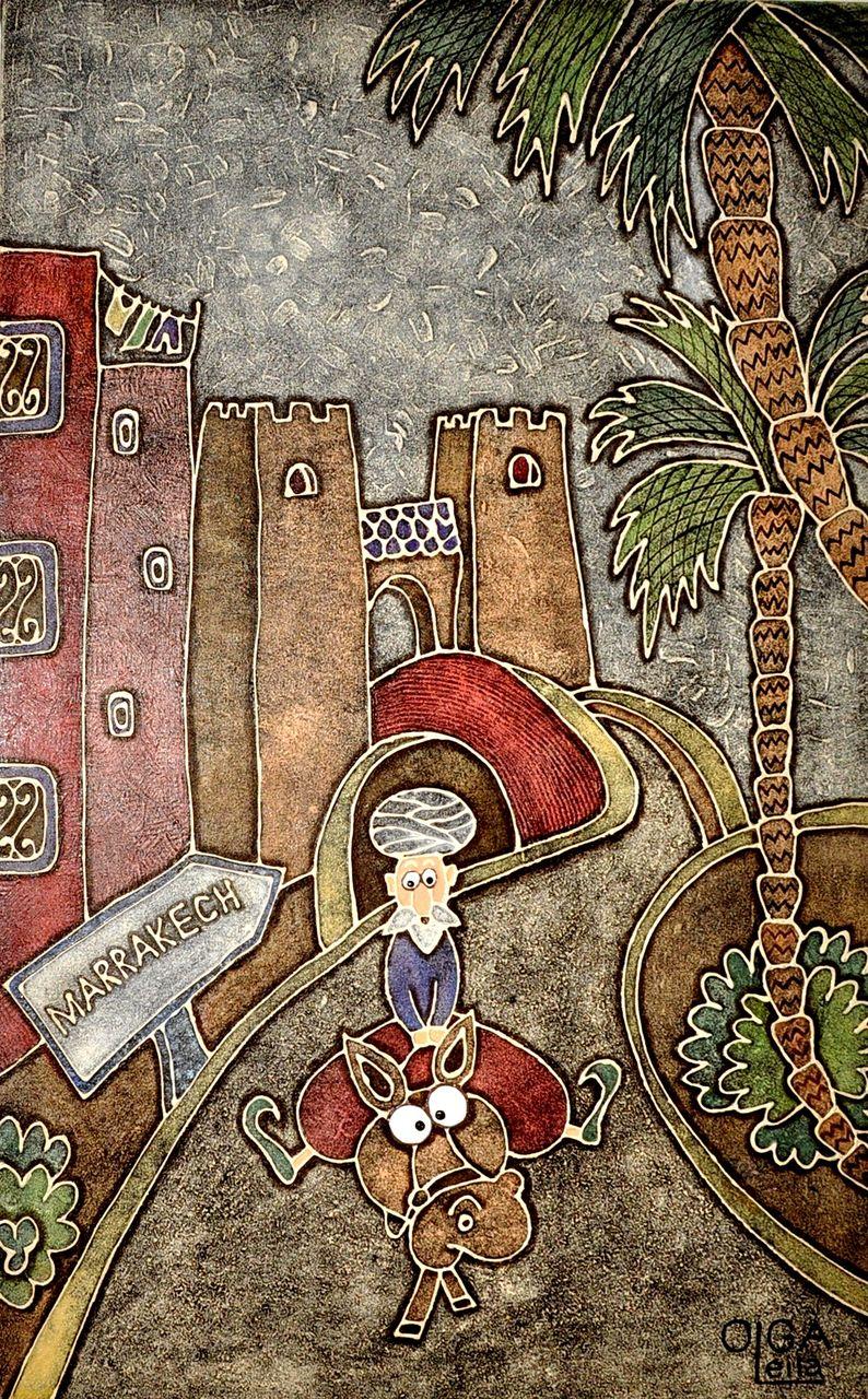 Olga  Leila Marrakech