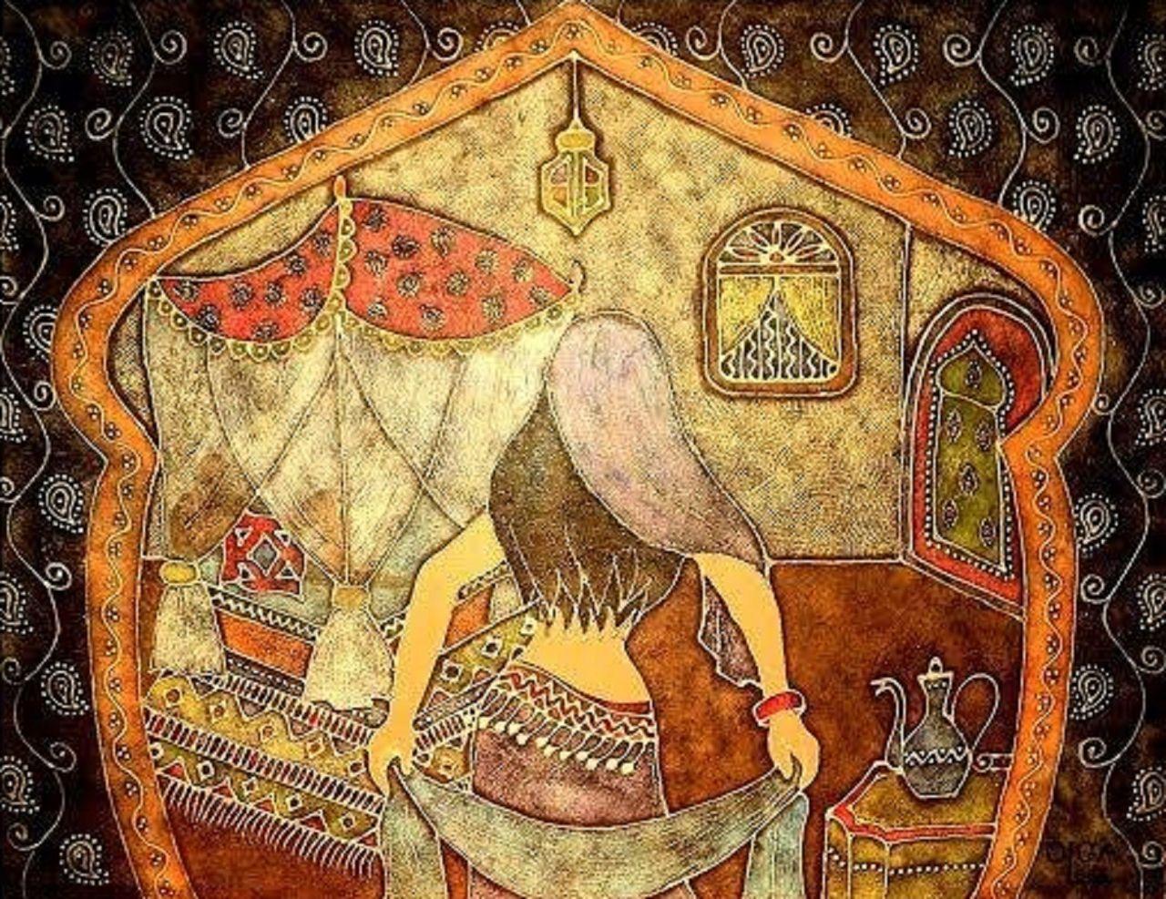 Olga  Leila Mille et une nuits