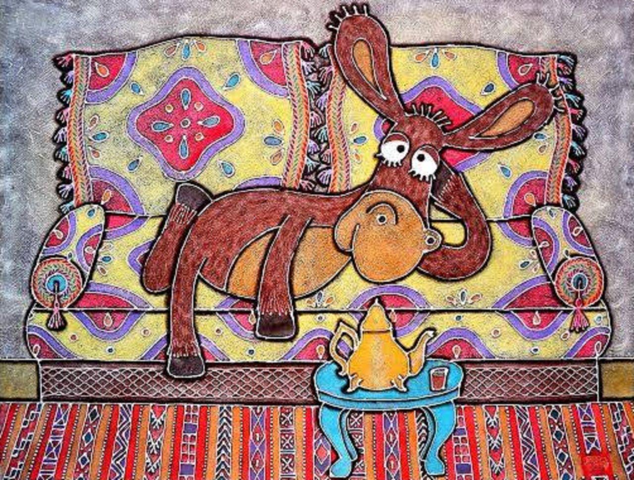 Olga  Leila Mon âne