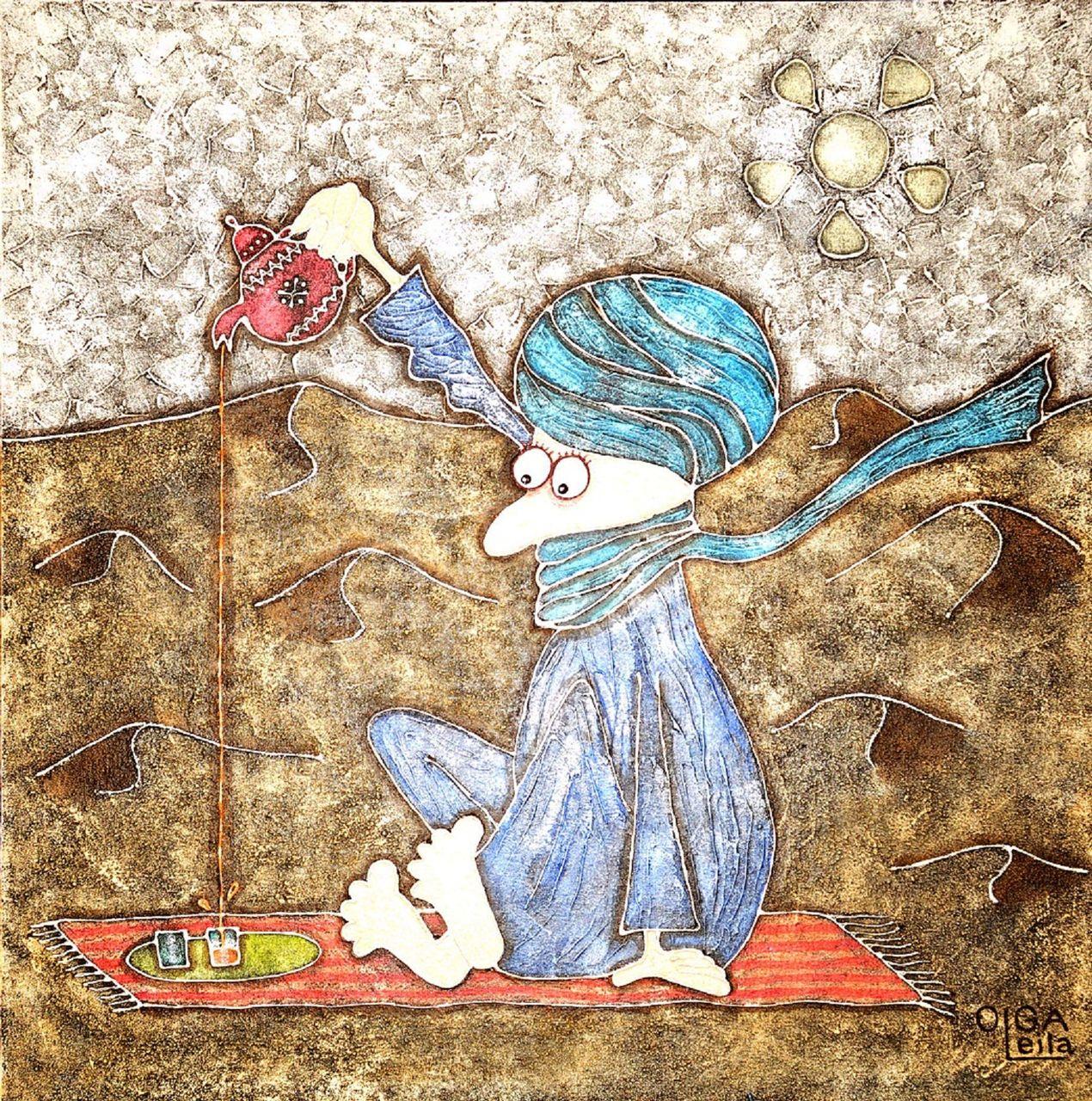 Olga  Leila Nomade du désert