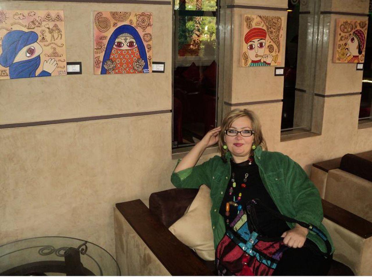 Olga  Leila A l'hotel KENZI FARAH ( Marrakech)
