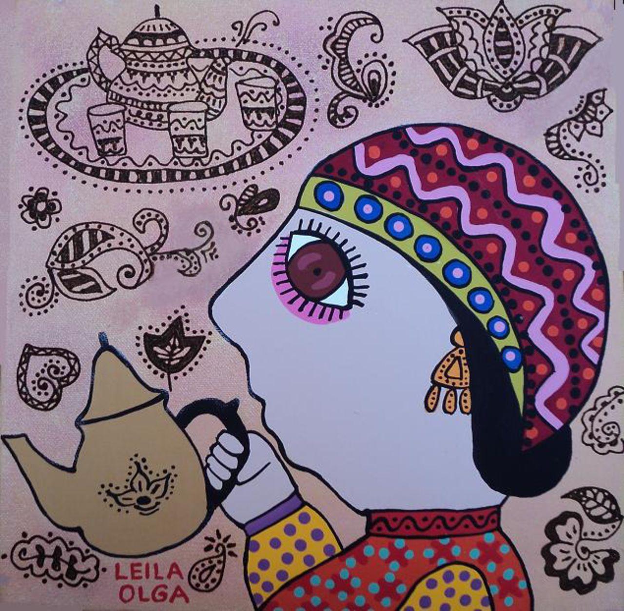 Olga  Leila Femme marocaine
