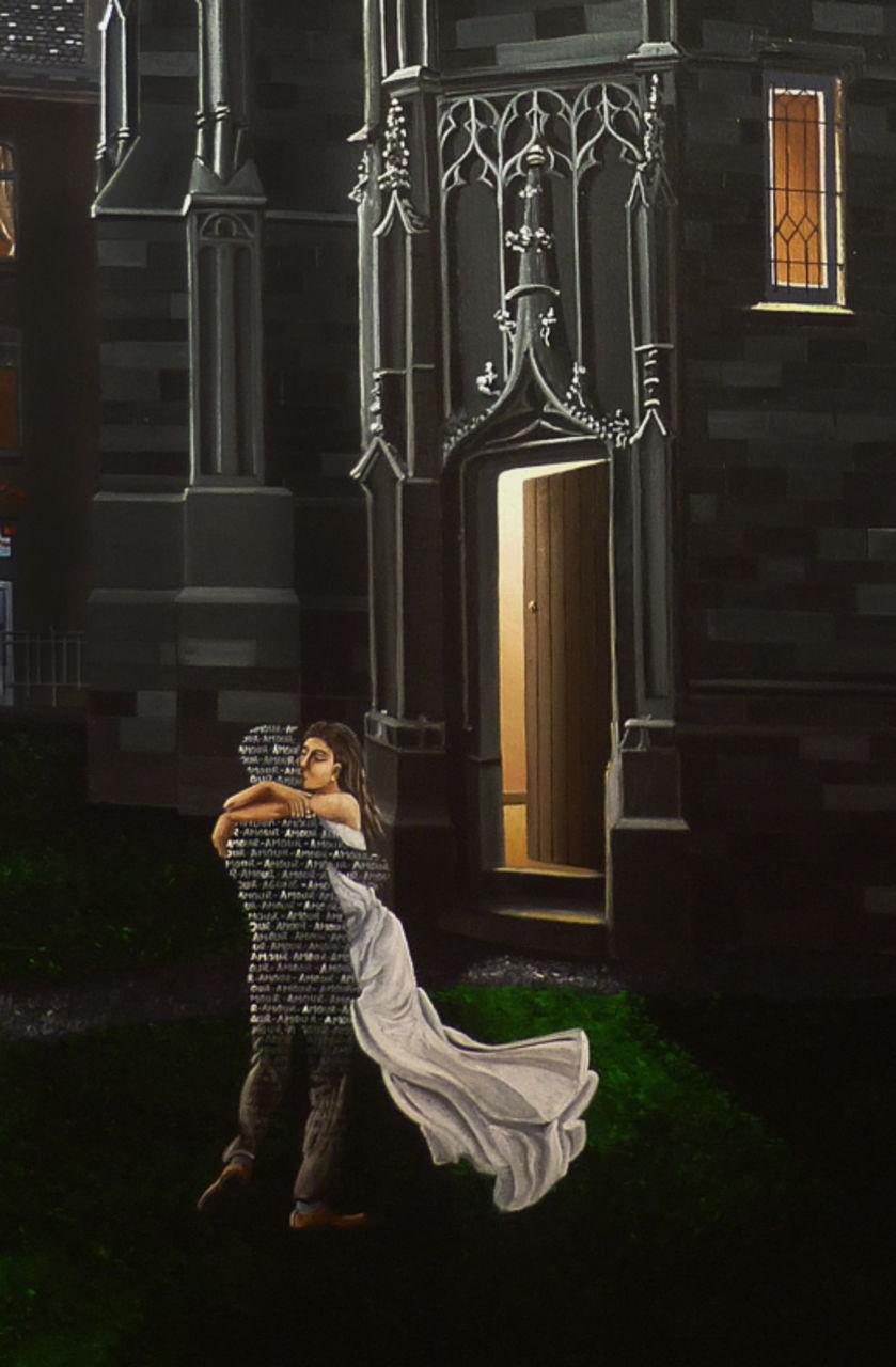 """olivier lamboray détail de """" Fantasme de Notre-Dame du sablon """" - 2011"""