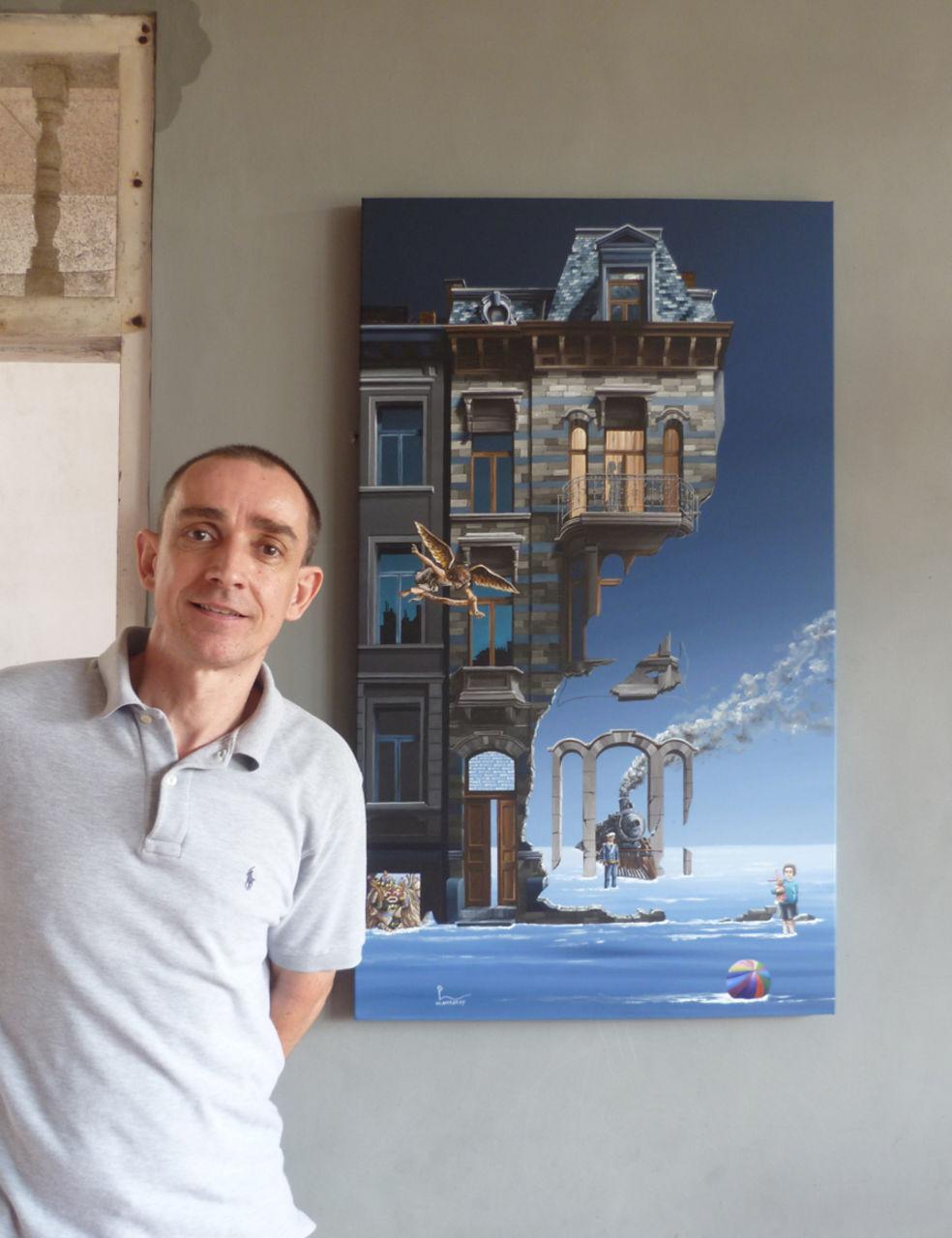 olivier lamboray the artist & his painting