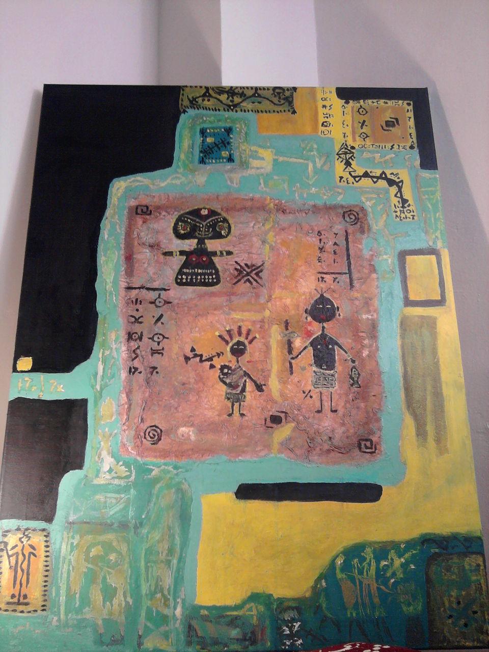Oudjida Walim artiste peintre Photo1343