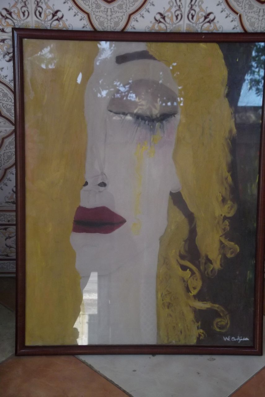 Oudjida Walim artiste peintre Photo 042