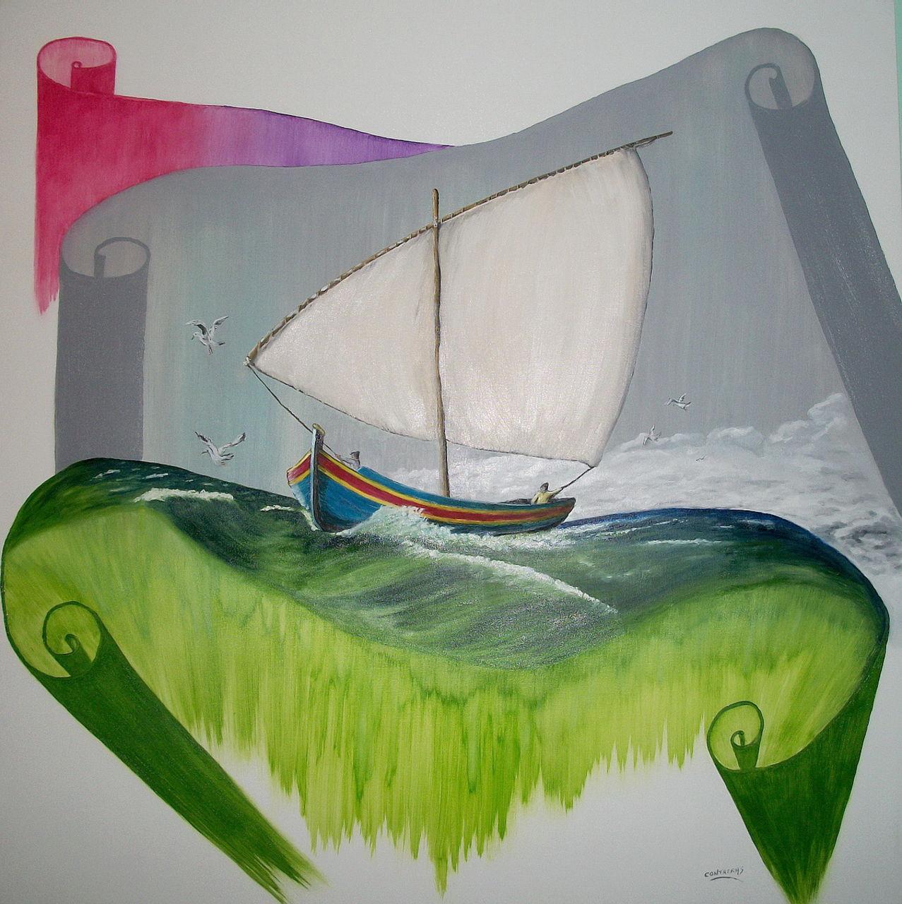 patrick contreras La barque Catalane