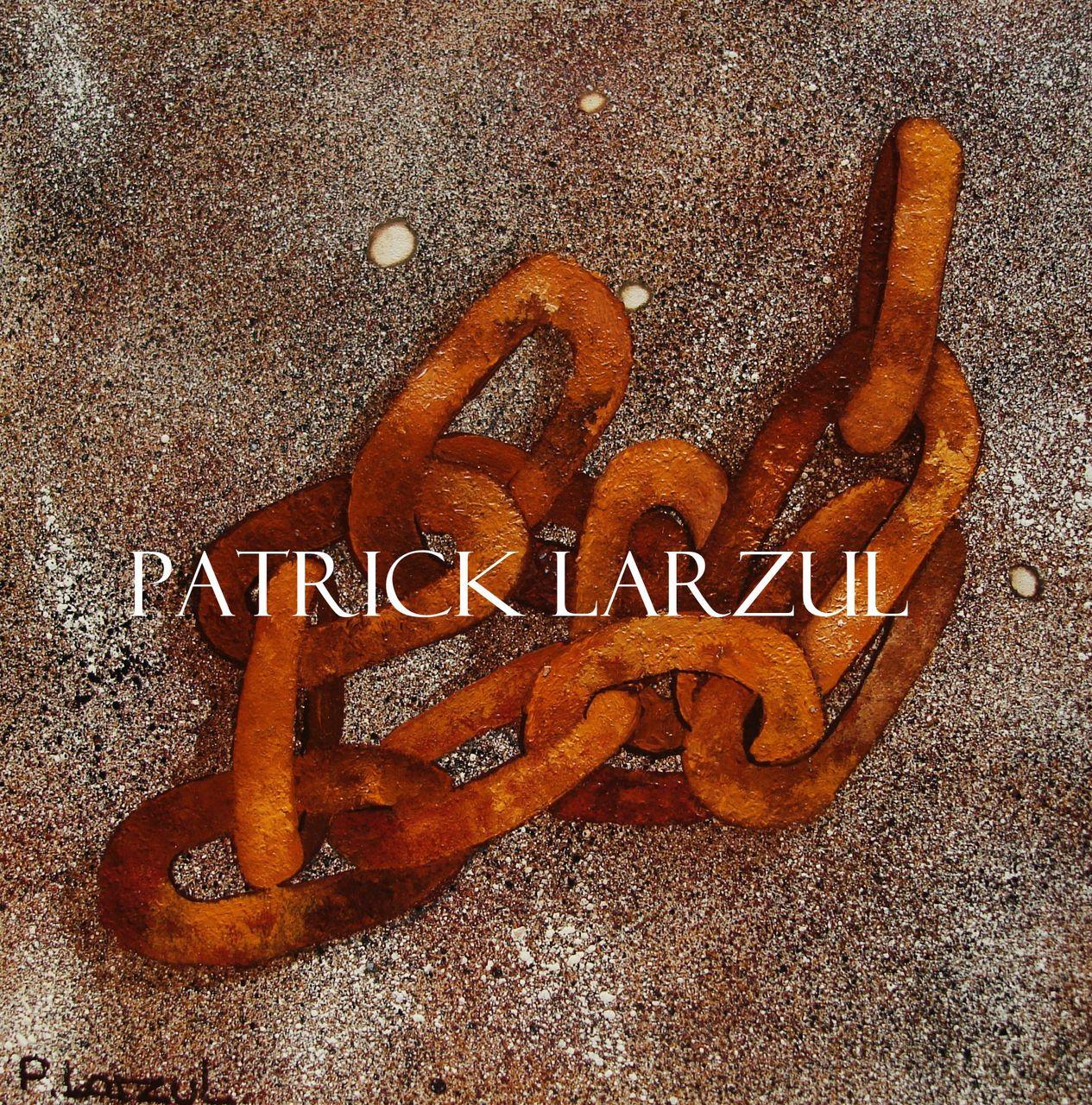 Patrick Larzul La rouille échouée sur le sable.