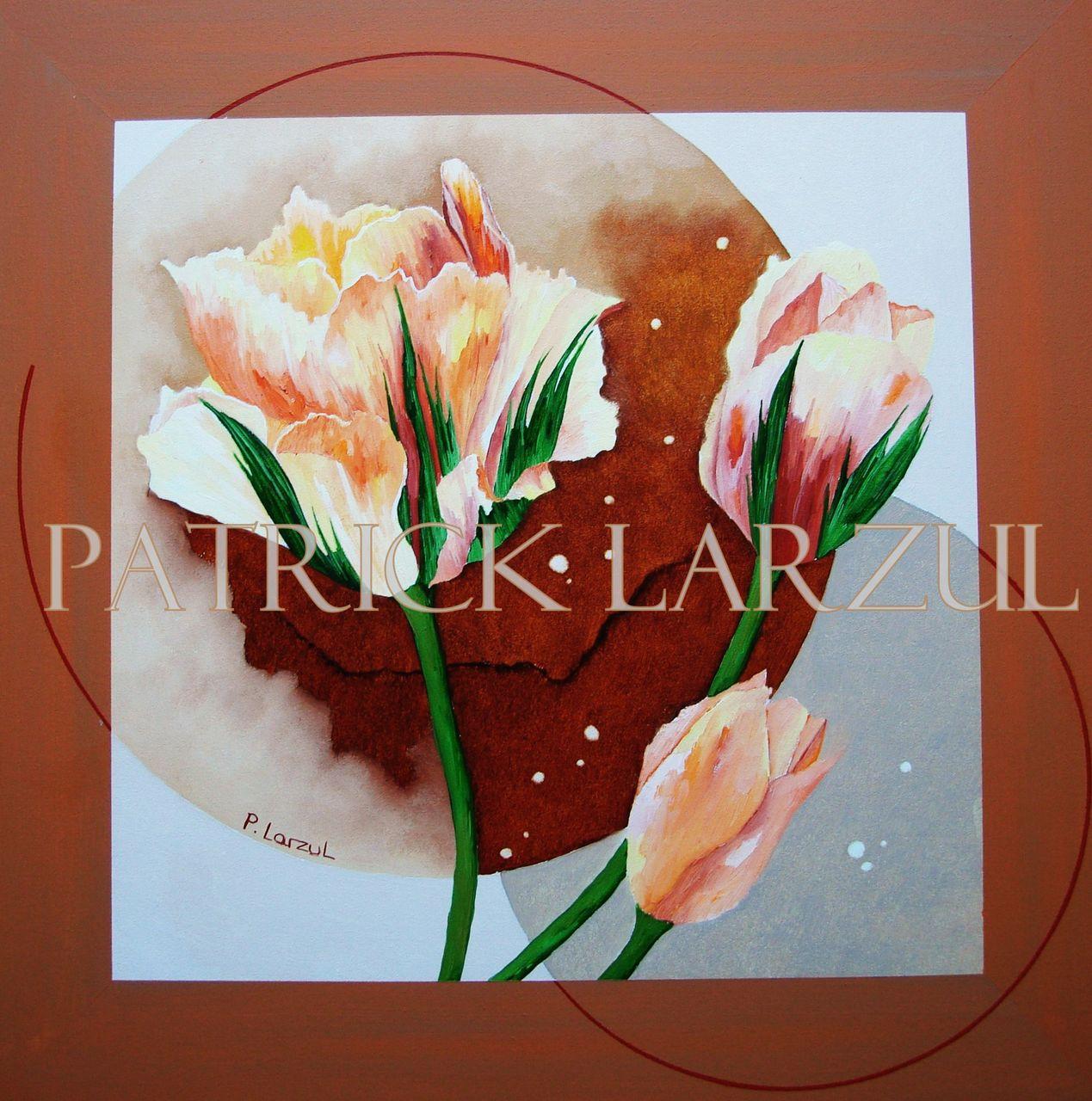 Patrick Larzul Les tulipes perroquet