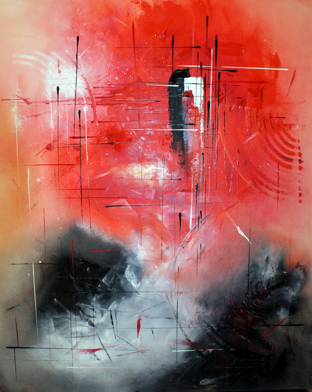 Patrick MARIN LE PASSAGE DU TEMPS (2010) Vendu.