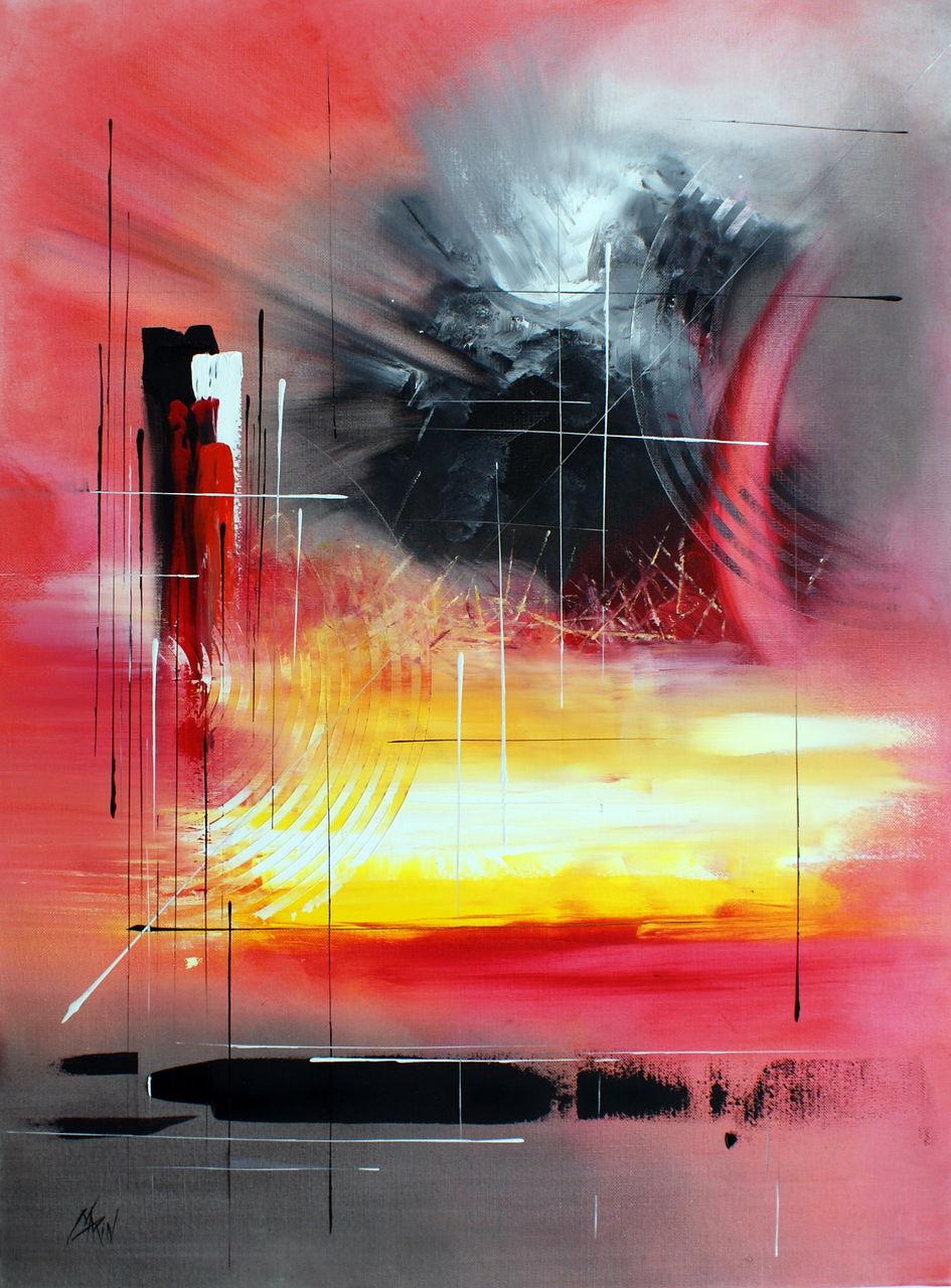 Patrick MARIN LE TEMPS QUI PASSE (2010).Vendu.