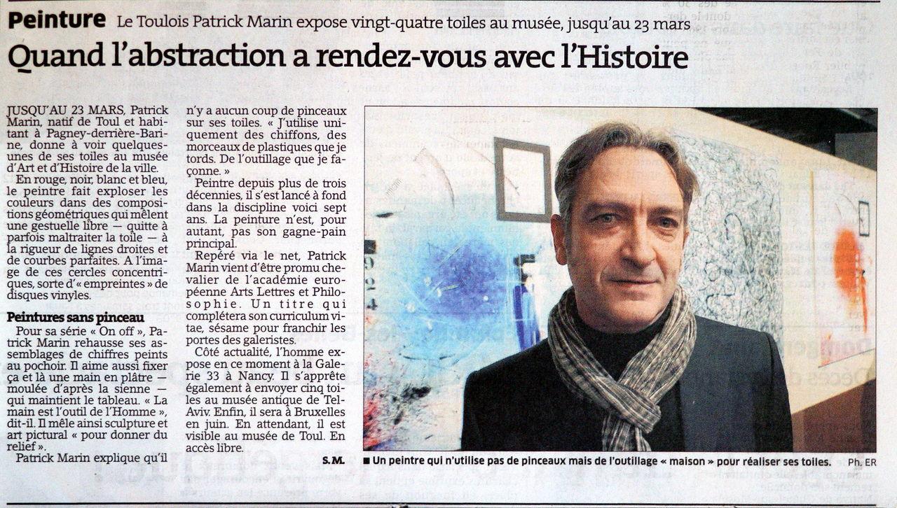 Patrick MARIN Musée d'Art & d'Histoire de TOUL.