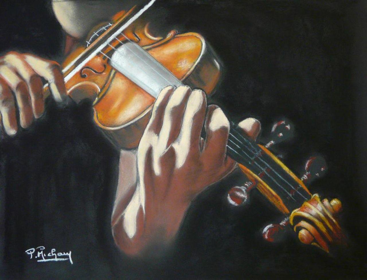 Patrick  MICHAU sublime violon