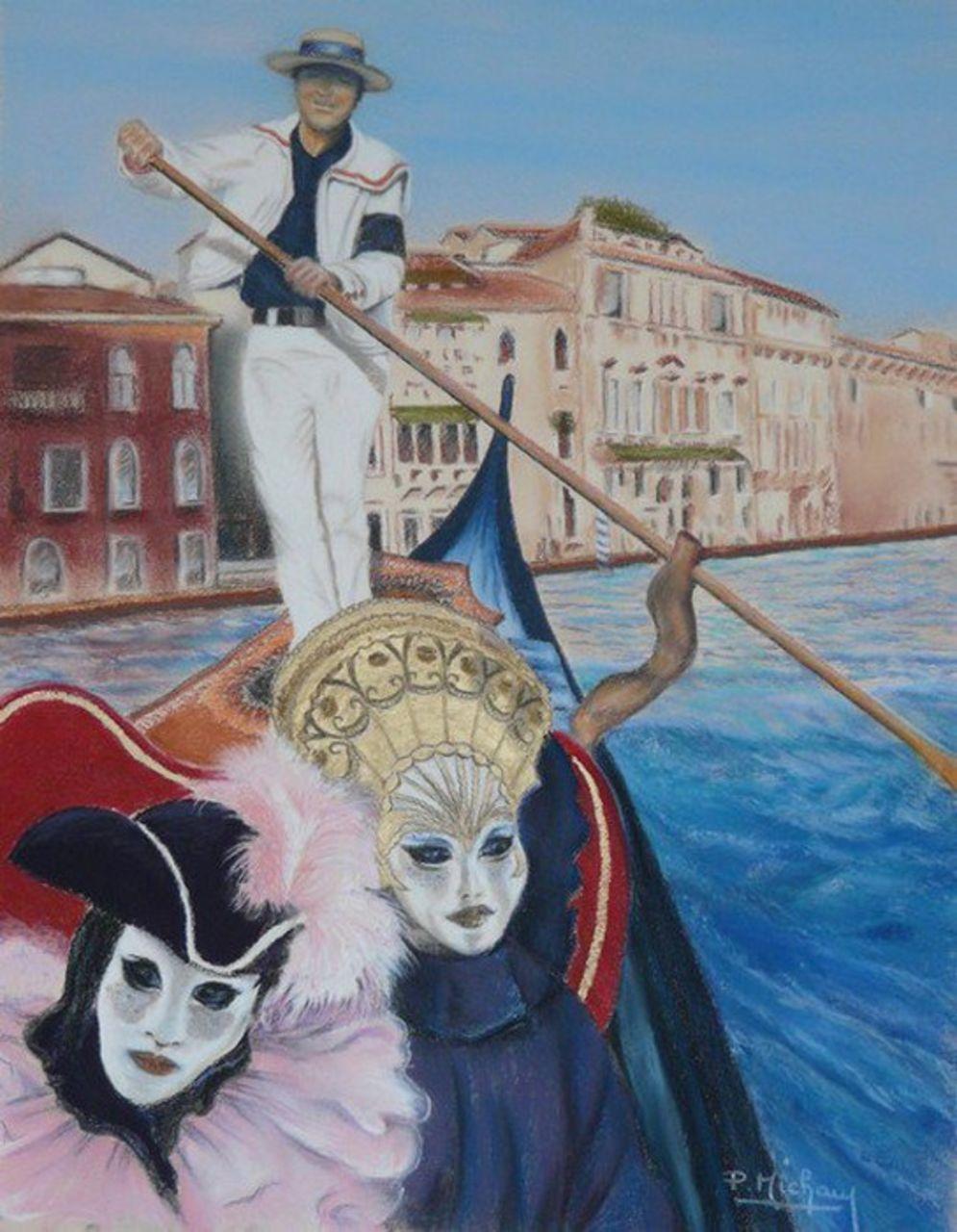 Patrick  MICHAU Carnaval de Venise
