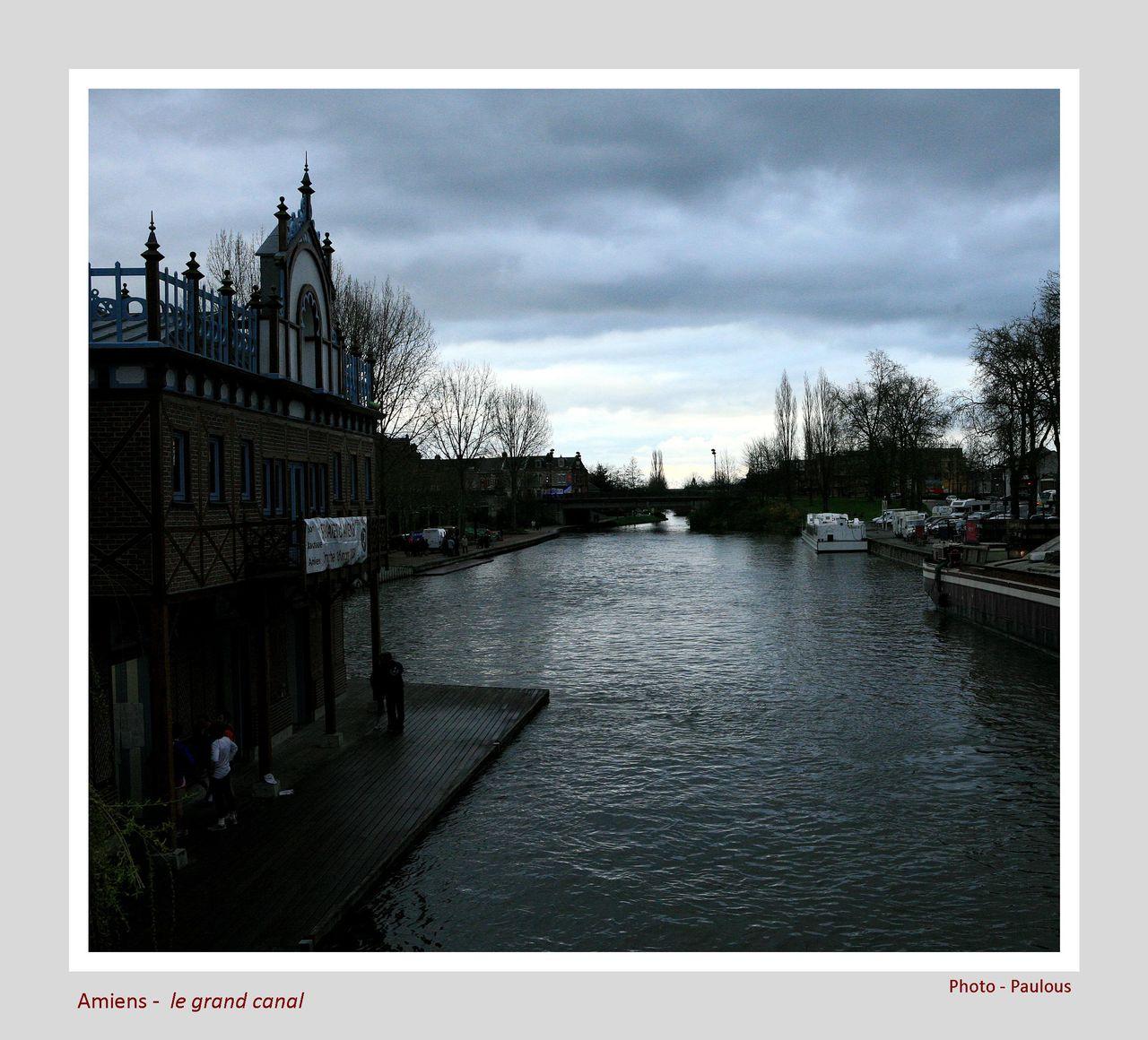 Paulous Amiens le grand canal