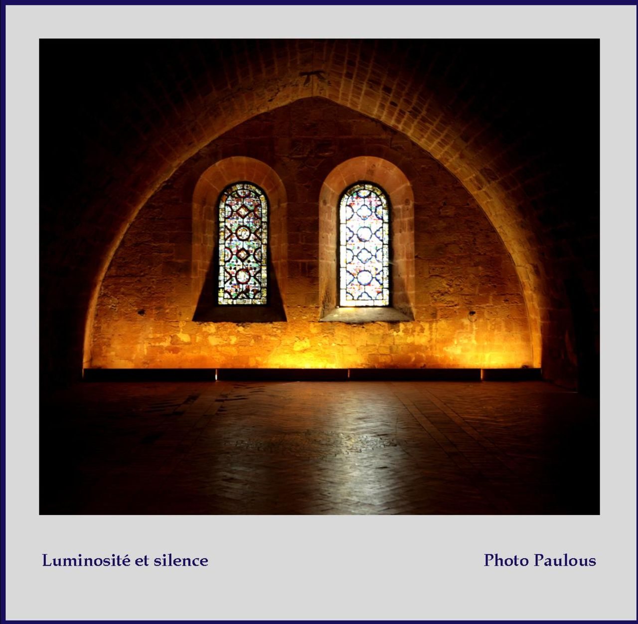 Paulous Lumino et silence