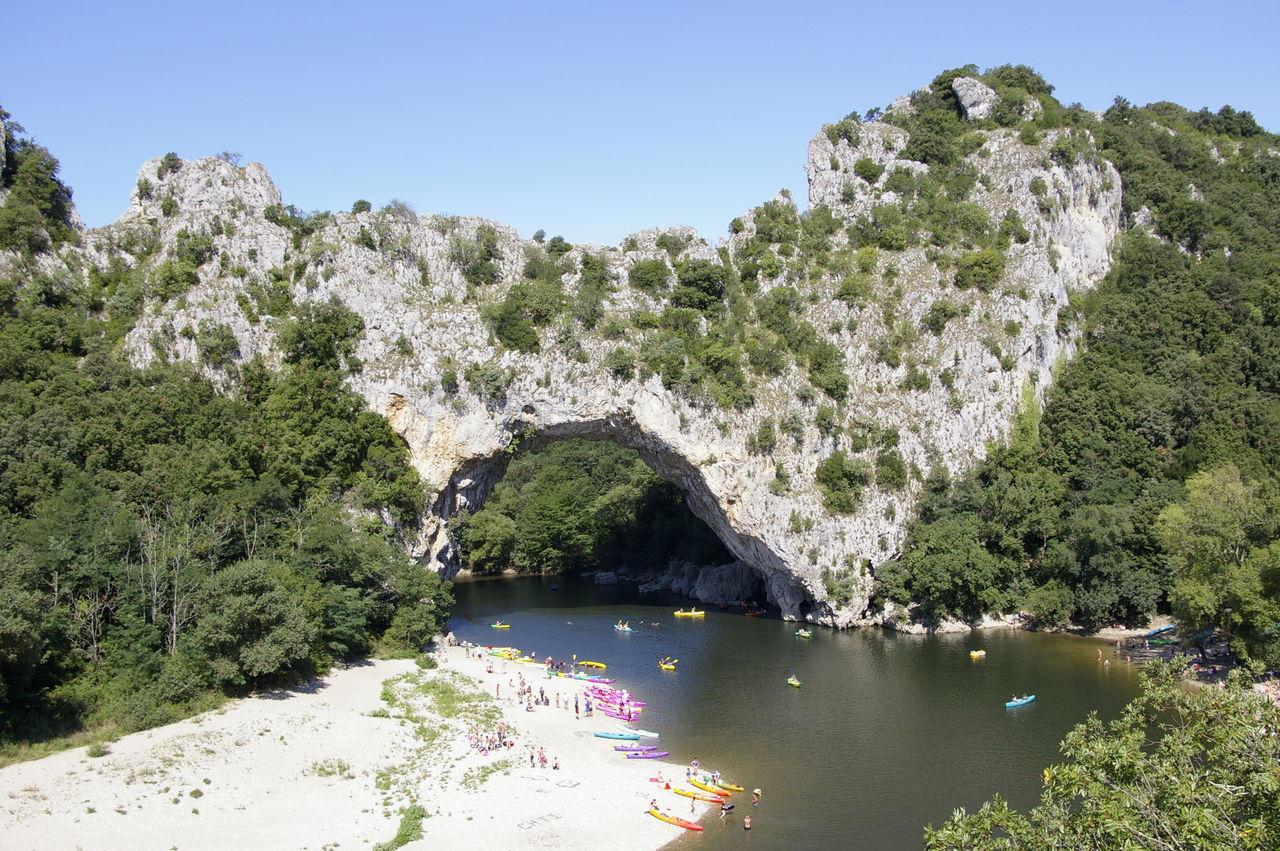Peeter SELBONNE Le Pont D'Arc 1