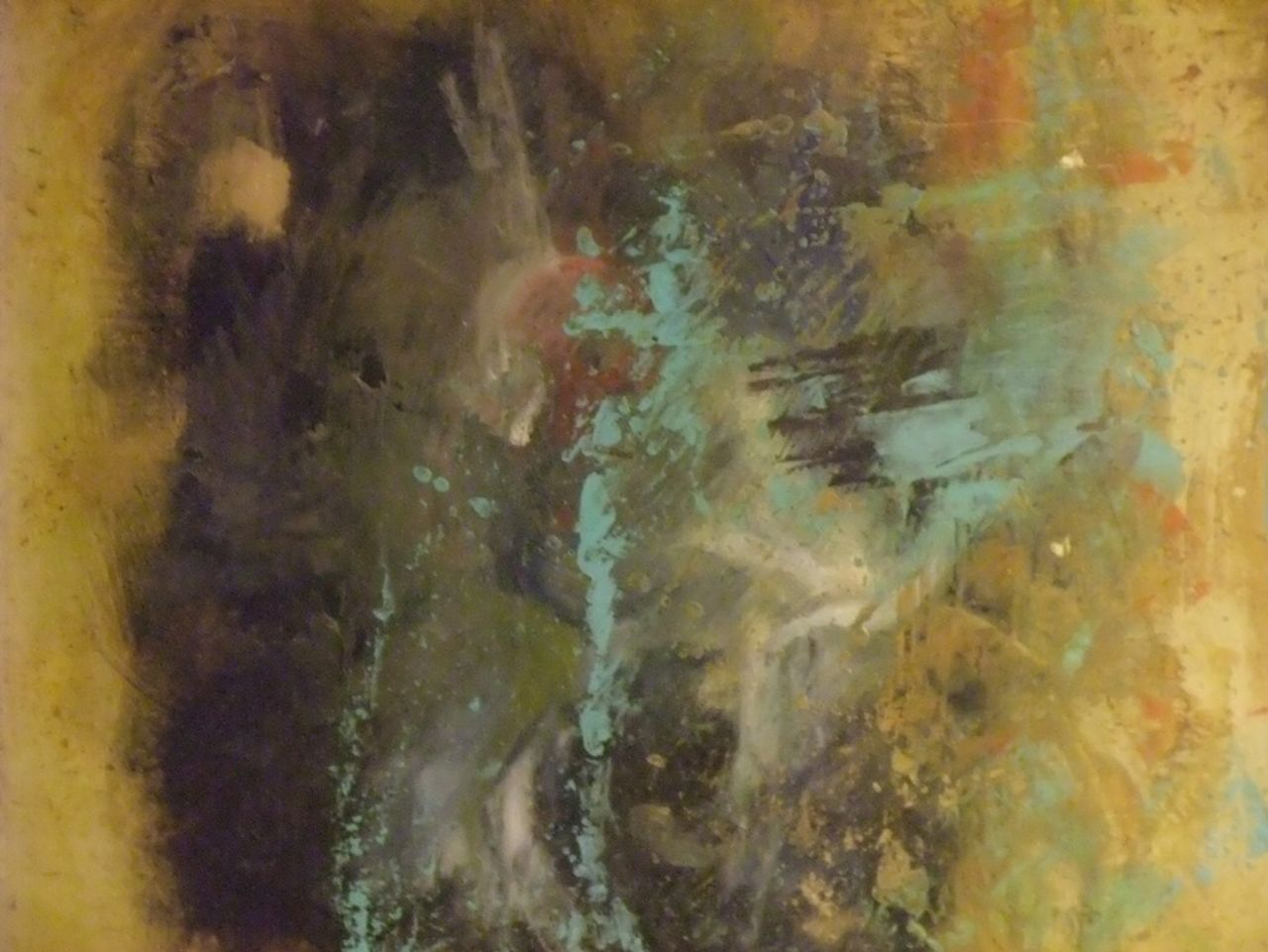 PeintrEncauste Cire et Pastel sur Toile