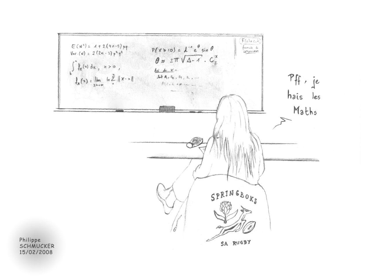 Philippe Schmucker Cynthia et les Maths