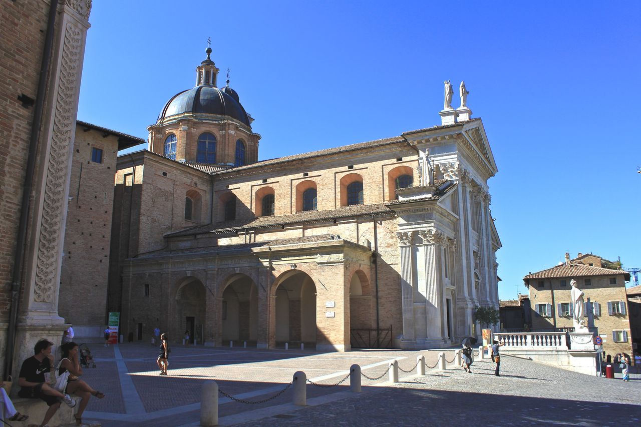 Philippe Wertz Place du Palais (Urbino - Italie)