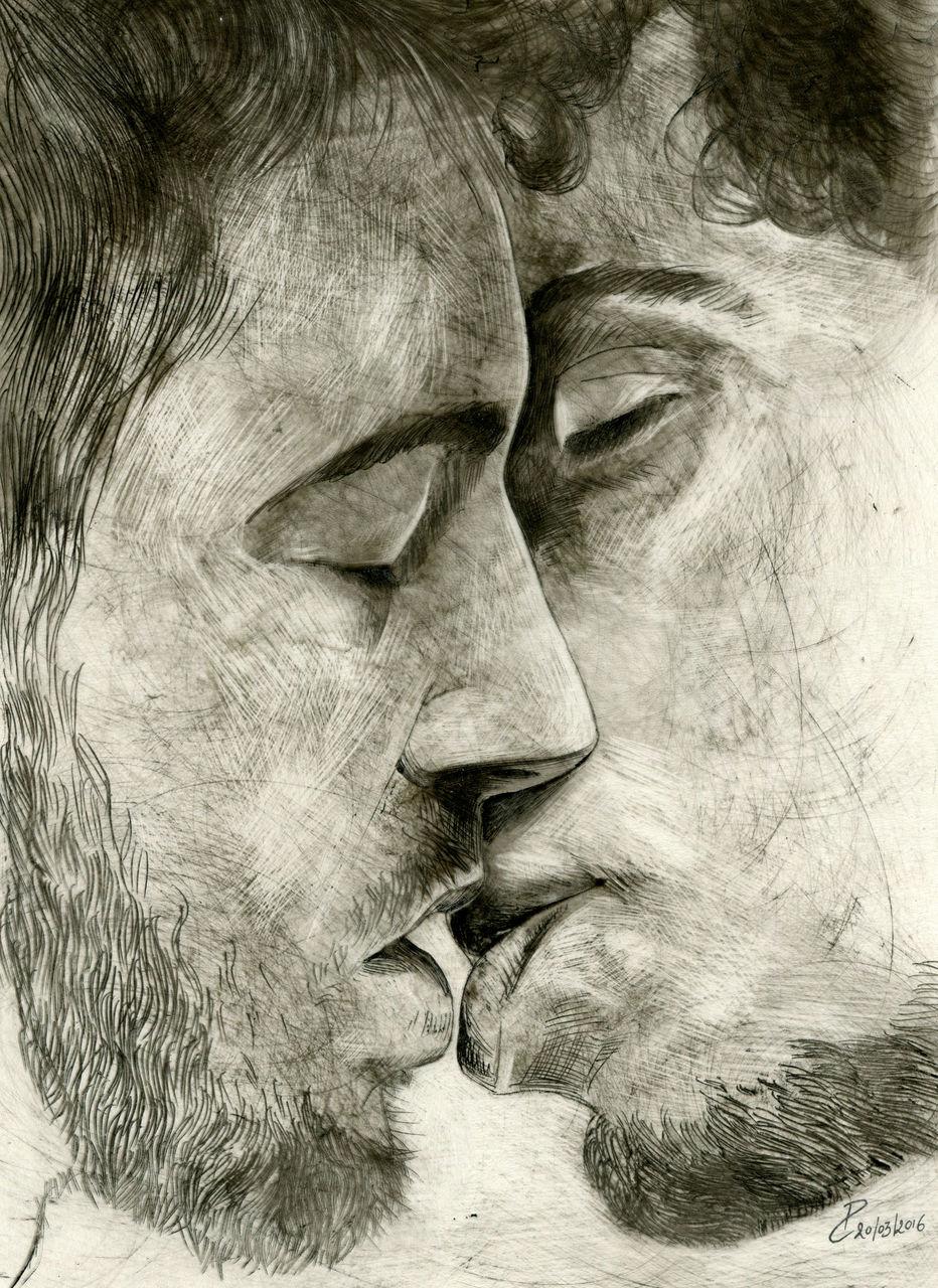 Piros Coltman baiser