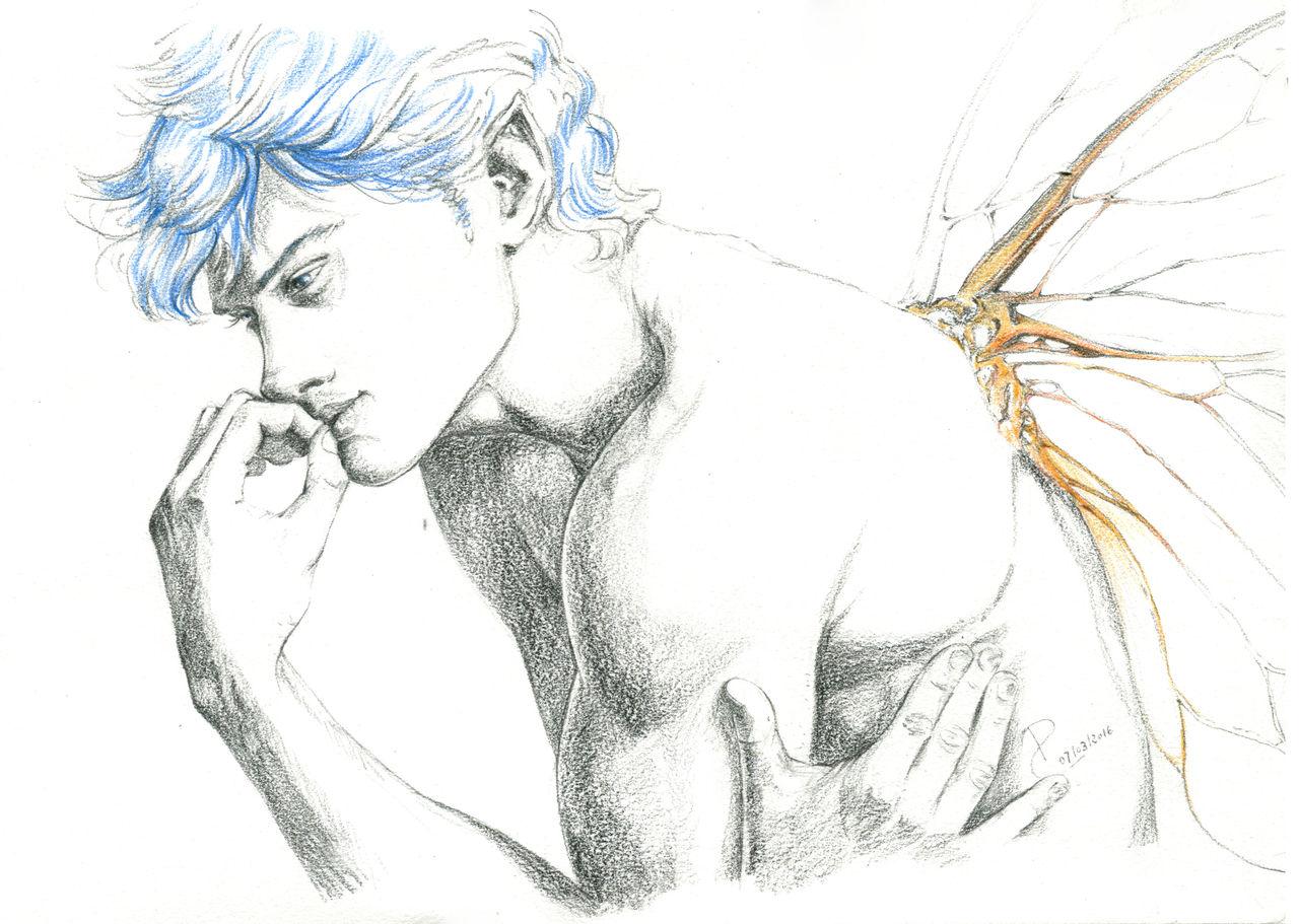 Piros Coltman Elfe bleu