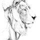 Piros Coltman - Hercule à tête de lion
