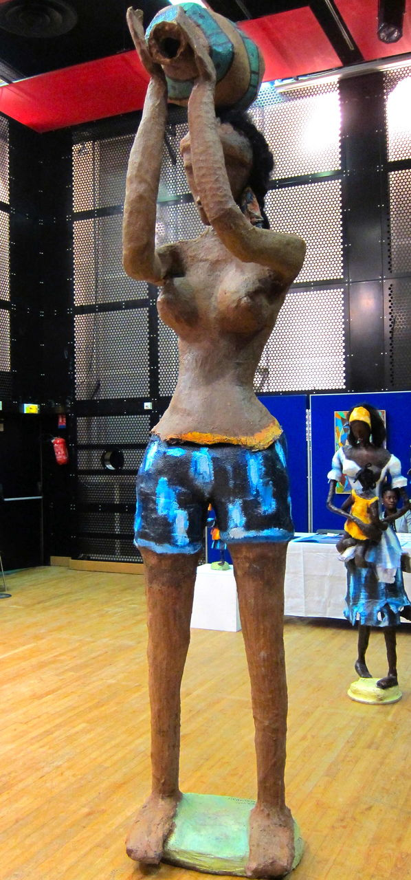 Rhode Bath-Schéba Makoumbou Sculptures