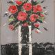 Ricaux Marie Claire - 2015bouquet noir et rouge