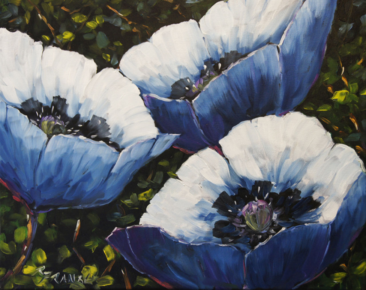 Richard T Pranke Blue Poppies